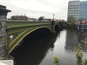 Albert Bridge in Glasgow over the River Clyde