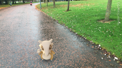 Halloween 2017 Pokémon Go Hunting Cubone Glasgow Green