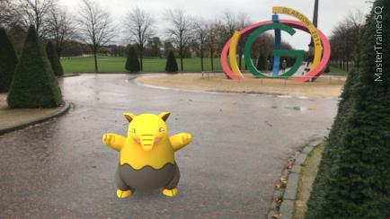 Halloween 2017 Pokémon Go Hunting Drowzee Glasgow Green