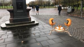 Halloween 2017 Pokémon Go Hunting Krabby