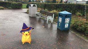 Halloween 2017 Pokémon Go Hunting Pikachu Daisy Green