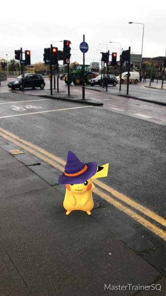 Halloween 2017 Pokémon Go Hunting Pikachu Glasgow City