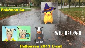 Halloween 2017 Pokémon Go Hunting