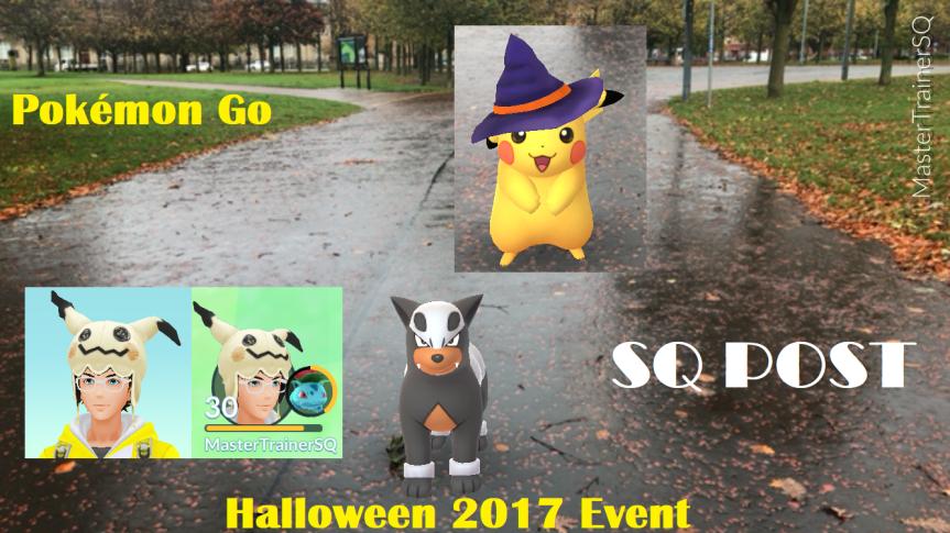 Halloween 2017 Pokémon GoHunting