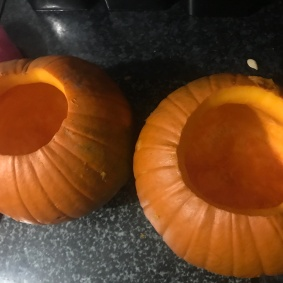 Halloween Pumpkins Gutted 2