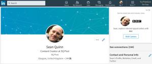 Sean Quinn on LinkedIn