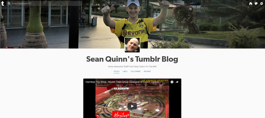 Sean Quinn Tumblr Profile