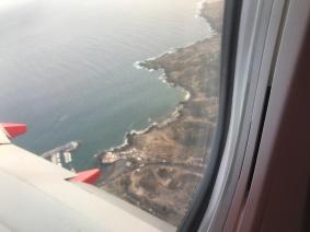 Tenerife Fom Plane Window