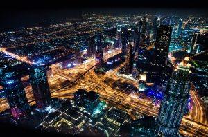 City Lights at Night