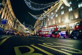 City Street Lights At Night 2
