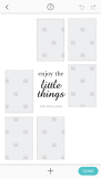 Pic Collage Card Template 10