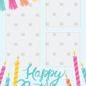 Pic Collage Card Template 13