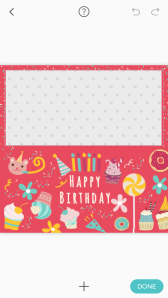Pic Collage Card Template 16