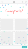 Pic Collage Card Template 17