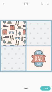 Pic Collage Card Template 18