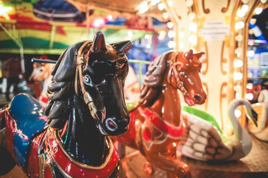 Carnival Horse Carousel Ride