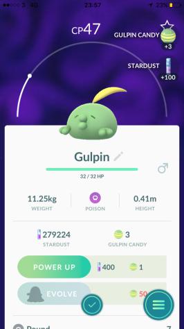Caught Some New Gen 3 Pokémon Gulpin Listing