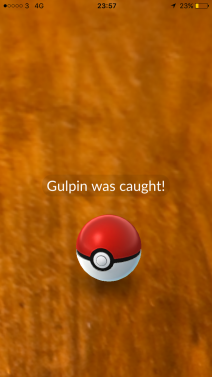 Caught Some New Gen 3 Pokémon Gulpin Pokeball