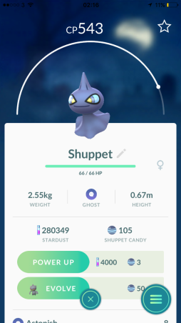 Caught Some New Gen 3 Pokémon Listing Shuppet
