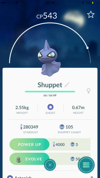 Caught Some New Gen 3 Pokémon Listing Shuppet