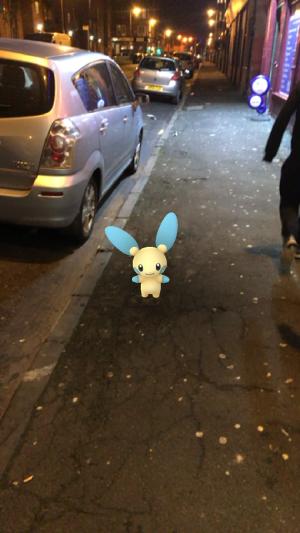 Caught Some New Gen 3 Pokémon Minun 1