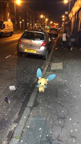 Caught Some New Gen 3 Pokémon Minun 2