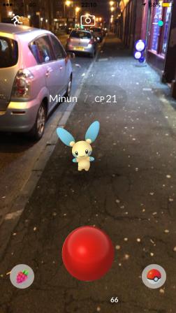 Caught Some New Gen 3 Pokémon Minun Capturing 1