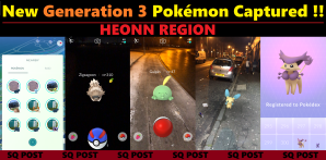 Caught Some New Gen 3 Pokémon
