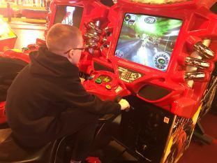 Irn-Bru Carnival 2016-2017 Moterbike Arcade Game