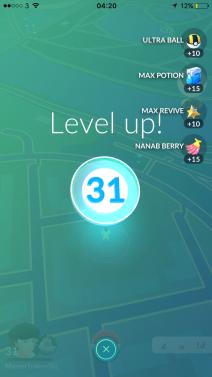 Level Up 31 Pokémon Go Hunting At Night
