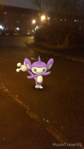 Pokémon Go Hunting At Night Aipom