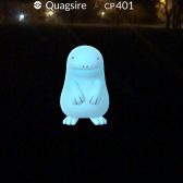 Pokémon Go Hunting At Night Capturing Quagsire
