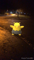 Pokémon Go Hunting At Night Drowzee