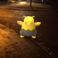 Pokémon Go Hunting At Night Drowzee