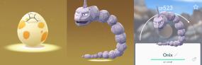 5km Pokémon Go Egg Hatch Onix