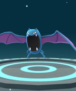 Pokémon Go Hunting At Night Evolved Golbat