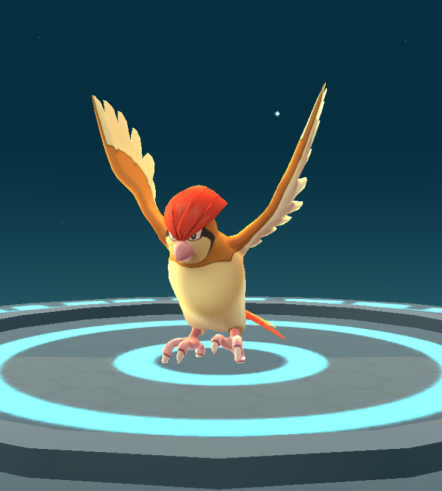 Pokémon Go Hunting At Night Evolved Pidgeotto