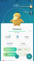 Pokémon Go Hunting At Night Psyduck
