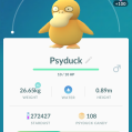 Pokémon Go Hunting At Night Psyduck