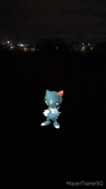 Pokémon Go Hunting At Night Sneasel 2
