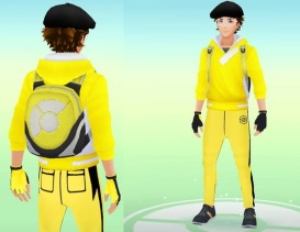 Pokemon Go Hunting At Night MasterTrainerSQ Front Back