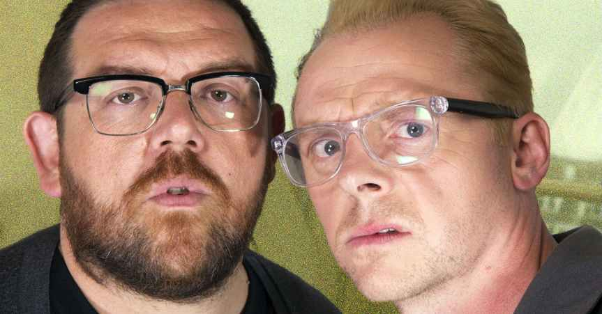 Simon Pegg and Nick Frost are Great Together in Film!