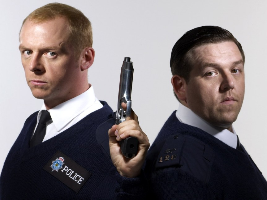 Simon Pegg Nick Frost Hot Fuzz