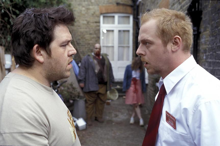 Simon Pegg Nick Frost Shaun Of The Dead