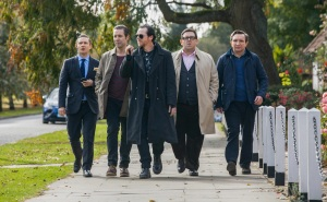 Simon Pegg Nick Frost The Worlds End Cast