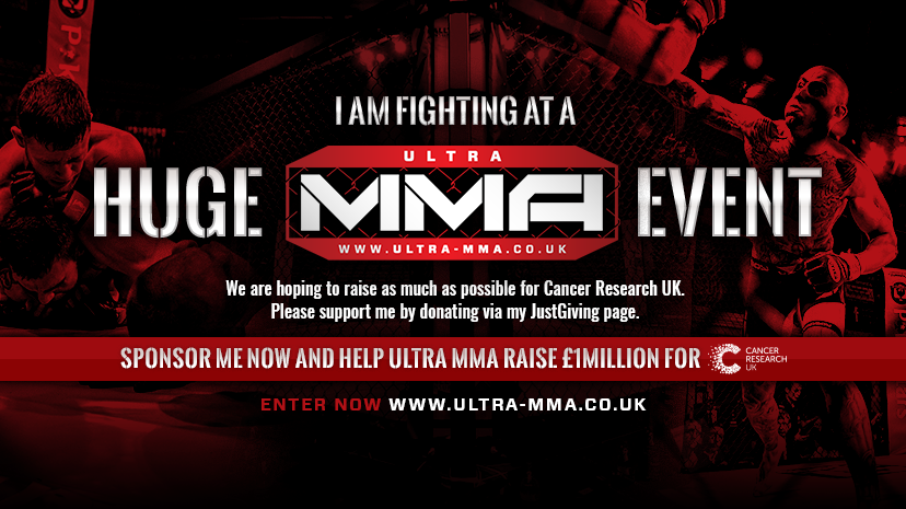 Ultra MMA Glasgow Cancer Research UK Fundraising