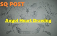 Angel Heart Drawing