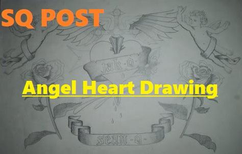 Angel Heart Drawing (by SeanQuinn)
