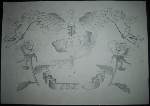 Angel Heart Drawing Artwork