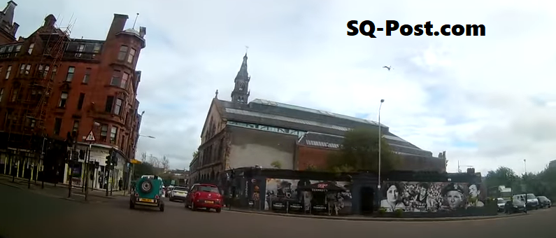 Car Dash Cam Glasgow Clutha Bar City Centre Clyde Side